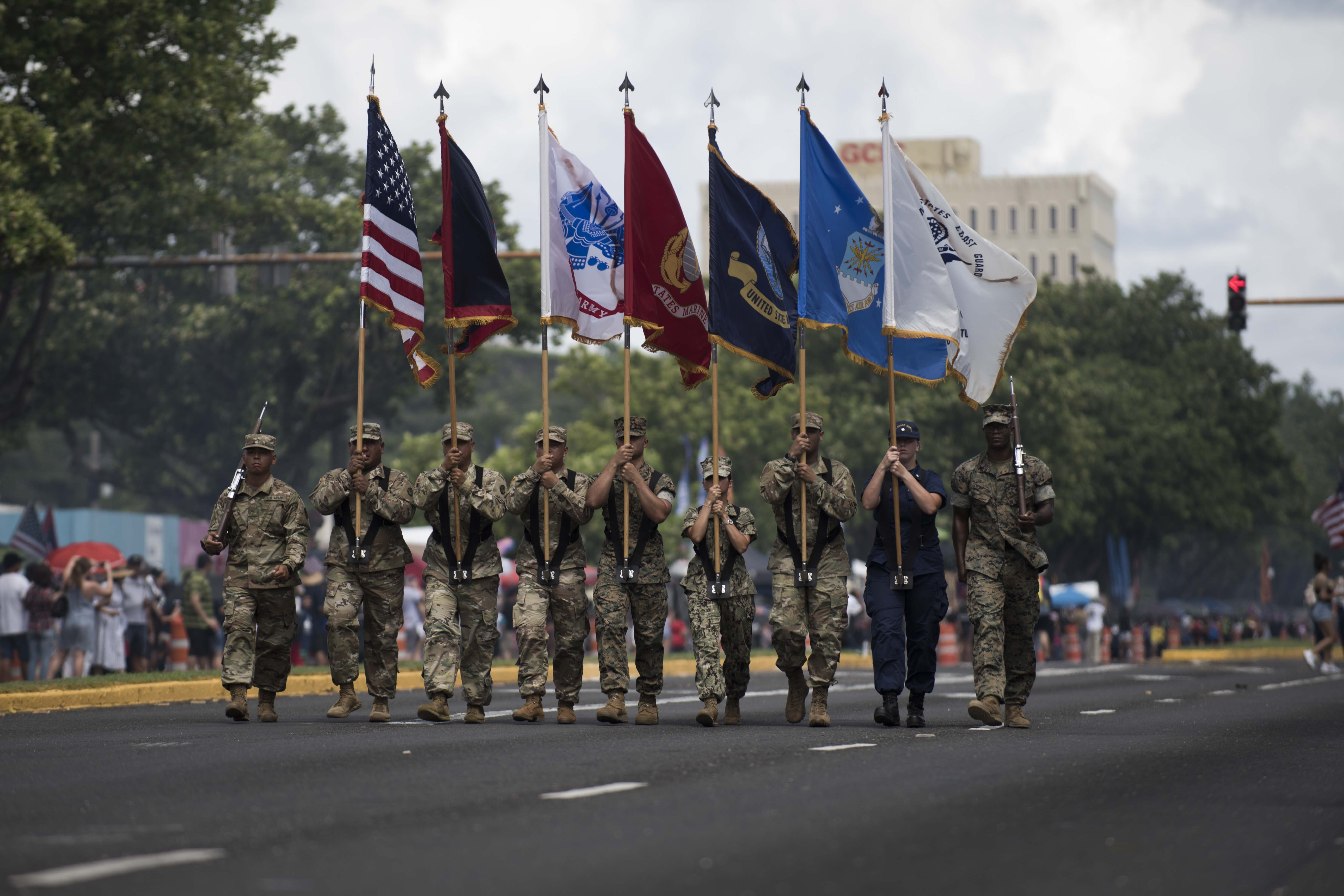 Andersen partakes in Guam's 75th Liberation Day
