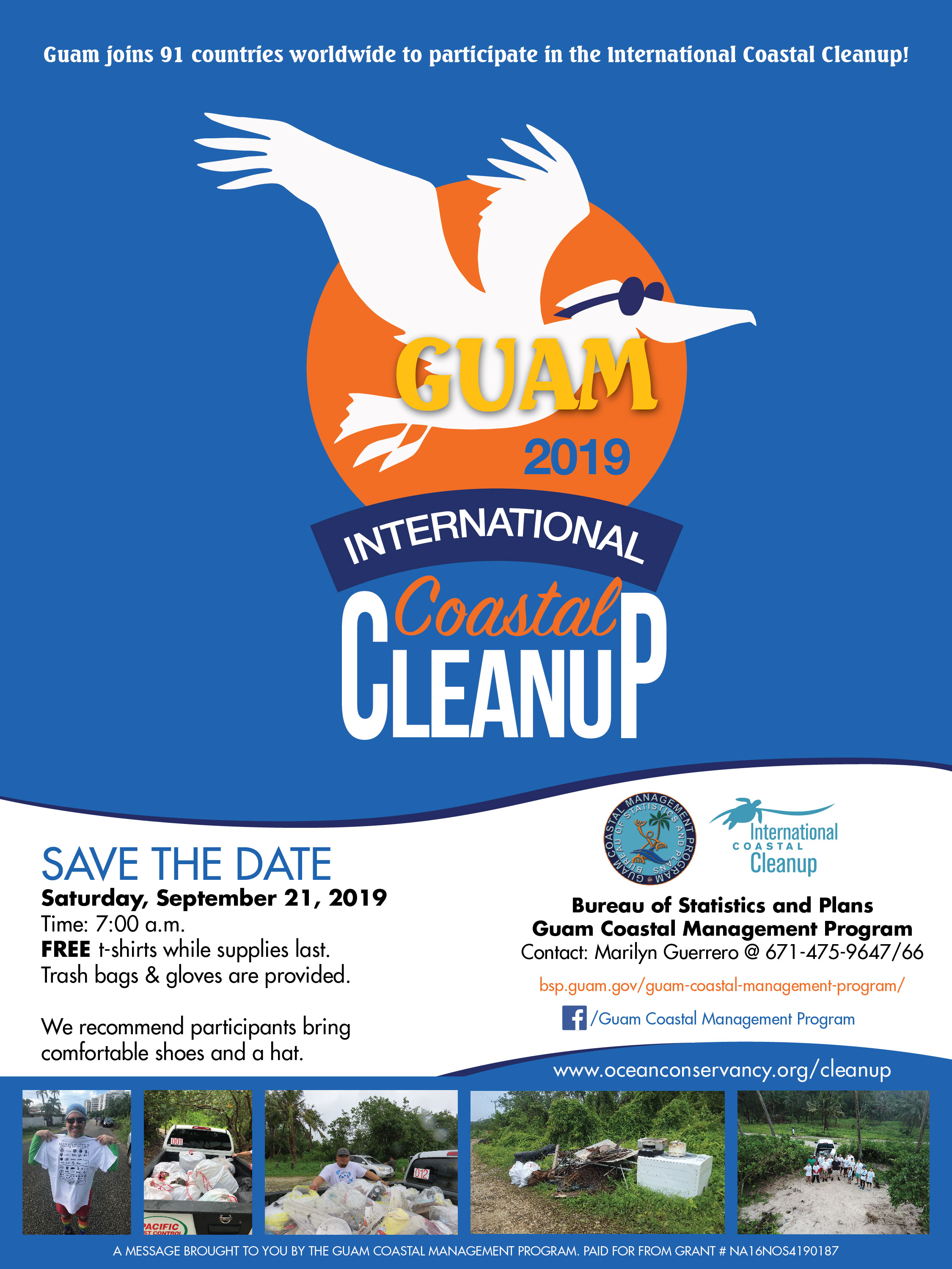 Guam 2019 International Coastal Cleanup